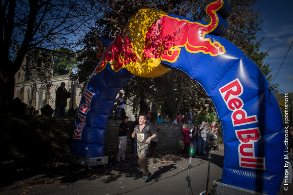 Red Bull Steeple Chase the finish line winner